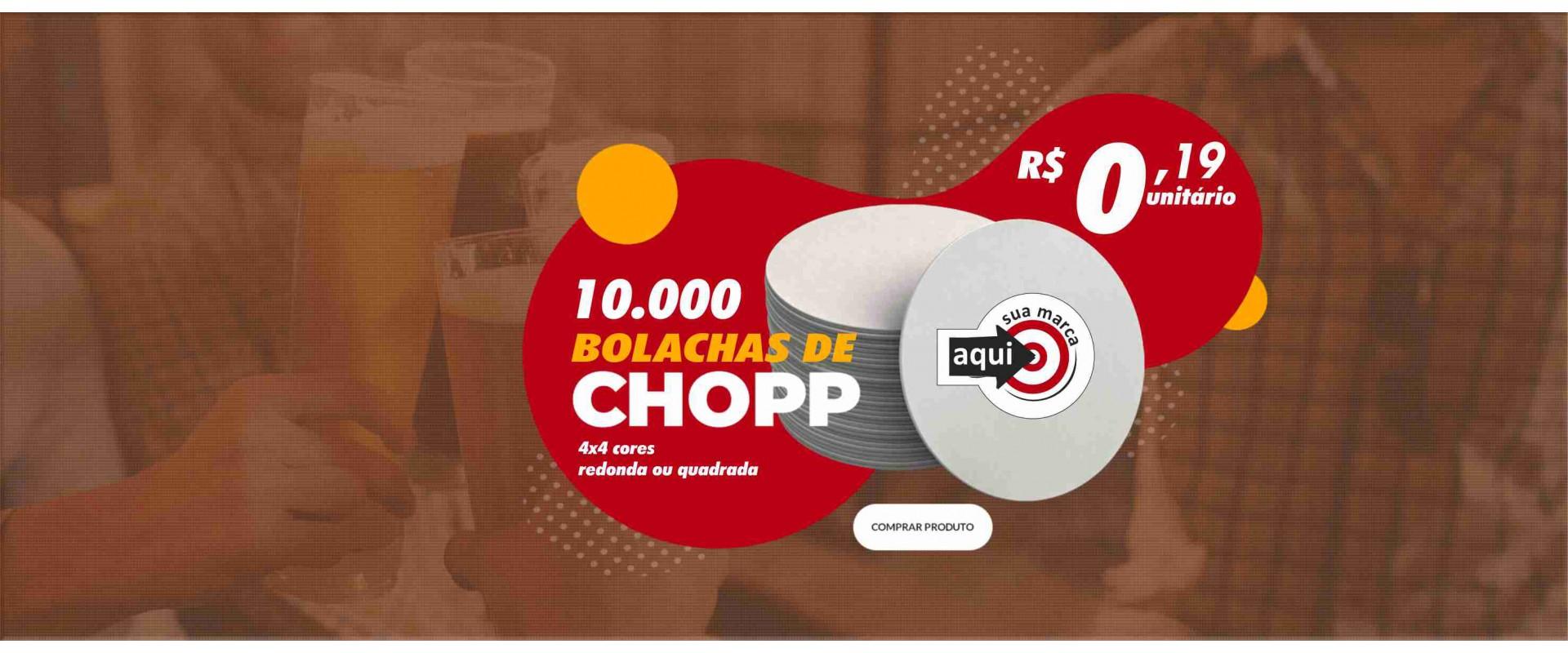 10.000 Bolachas para Chopp